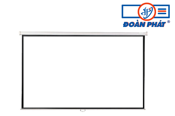 Màn chiếu treo tường kéo tay 150 inch (120x90) giá rẻ
