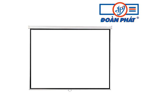Màn chiếu treo tường kéo tay 170 inch (120x120) giá rẻ