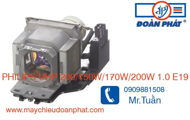 Bóng đèn máy chiếu PHILIPS UHP 200/150W/170W/200W 1.0 E19