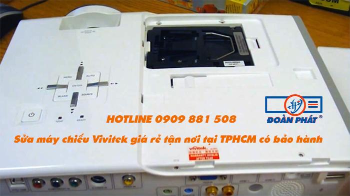 Sửa máy chiếu Vivitek giá rẻ tận nơi tại TPHCM có Thời Gian Bảo Hành